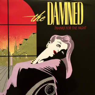 "Damned (The) - Thanks For The Night (12"") (VG-/VG-)"